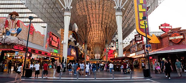 Fremont Street Experience at Nevada
