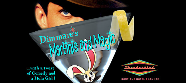 THE MARTINIS & MAGIC SHOW