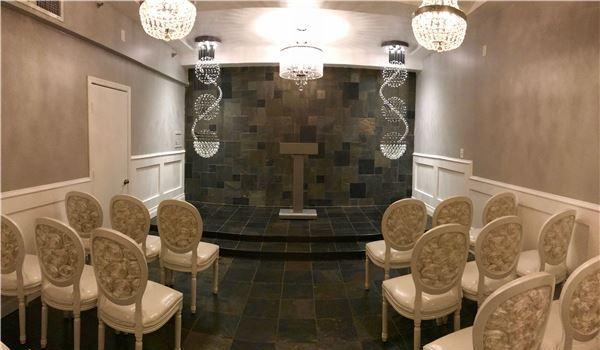 The Crystal Wedding Chapel of Thunderbird Boutique Hotel, Nevada